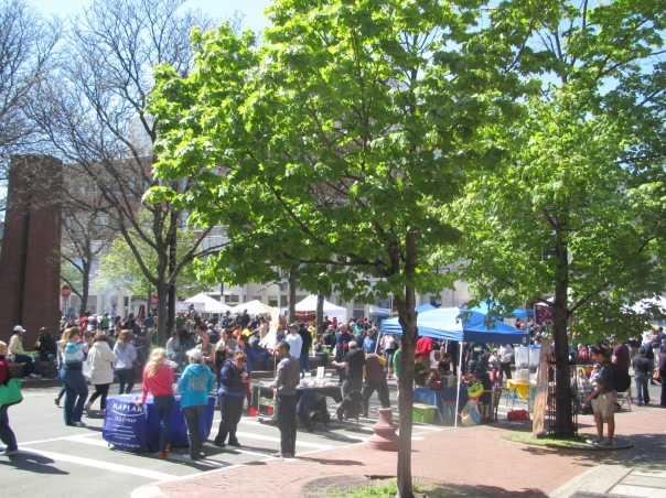 The Mayfair event drew an estimated 200,000 attendees to the heart of Harvard Square.