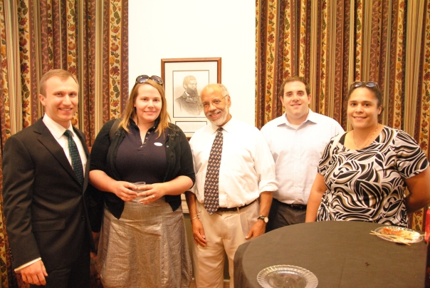 Steven Joseph (MA Office of the Attorney General), Caitlin Peale (Conservation Law Foundation), Chuck Walker (MA Division of Professional Licensure), Jason Savageau, and Tai Antoine.