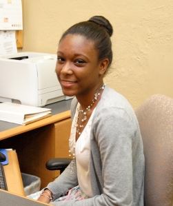 Alexandra Williams, a 2008 Summer Jobs alumni, is interning with the BBA's finance department this summer.