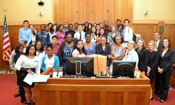 The Summer Jobs students participated in the Consequences module of the Financial Literacy Program this morning at the U.S. Bankruptcy Court.