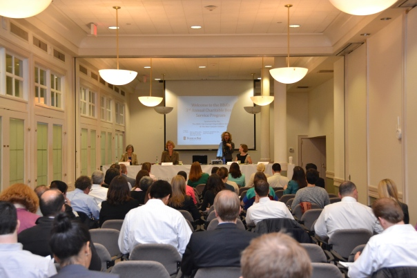 Lawyers attended a free CLE to learn how to find charitable board opportunities and key information they need to know to be an effective board member.