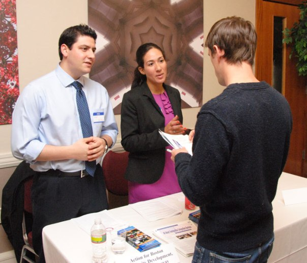 The Pro Bono Fair, organized by Suffolk Law School and the BBA, is one of the events you can participate in during Pro Bono Month.