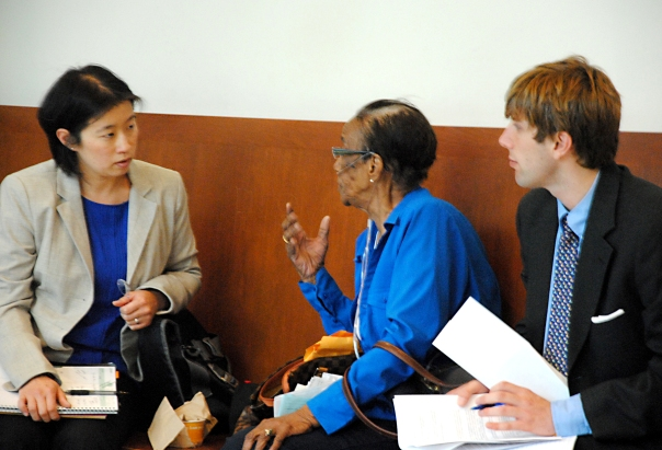 Attorneys volunteer at the Boston Housing Court on Wednesday and Thursday mornings through the Lawyer for the Day Program.