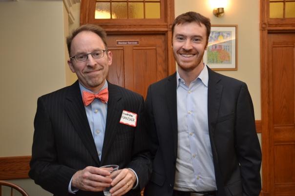 Jonathan Handler (Day Pitney LLP) and PILPer David Lieberman (Day Pitney LLP)