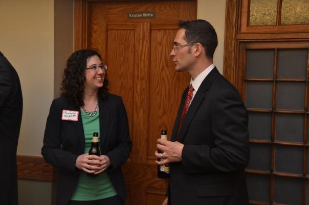 PILPER Rochelle Meddoff (State Street Global Advisors) and PILP Alum Jesse Redlener (Dalton & Finegold, LL)