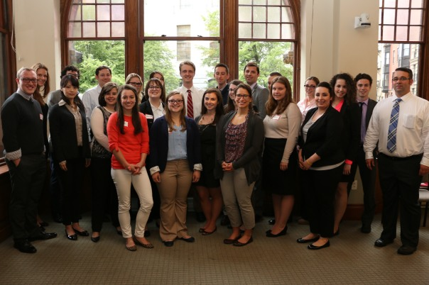 The 2014 Summer Judicial Interns at the BBA  for their orientation to the program.