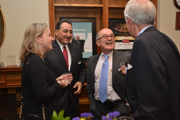 In April, members of the Society of Fellows were invited to an exclusive Spring Fellows reception to honor their contributions.