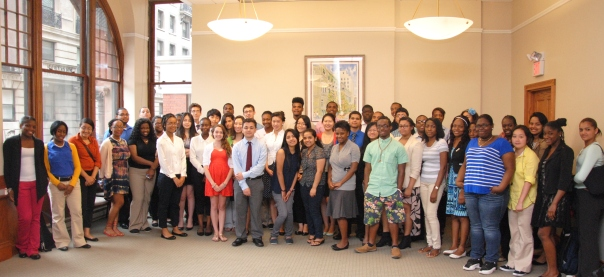 The BBA Summer Jobs Program places students from various Boston neighborhoods and schools at internships at law firms and legal departments throughout the city.