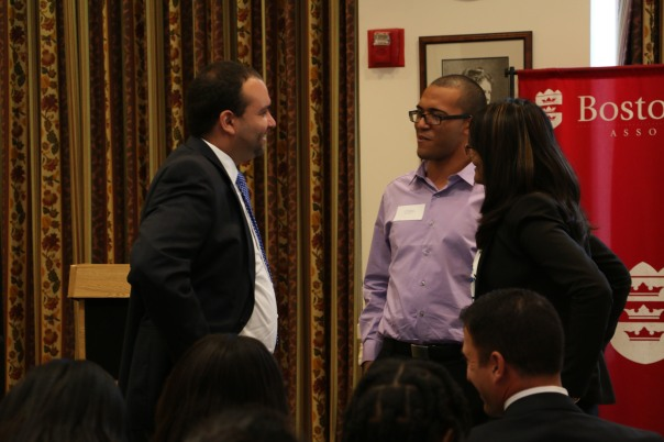 Felix Arroyo, Chief of Health and Human Services for the City Boston and former BBA Summer Jobs Student, spoke with Summer Jobs Interns Jerry Rodriguez and Romana Hussain about their internships.