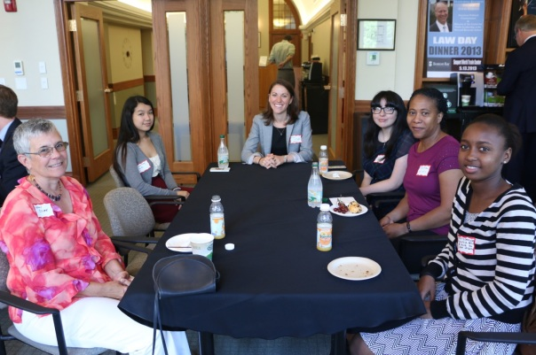 Supervisors and students from the Department of Labor Standards, Massachusetts IOLTA, Suffolk County District Attorney's Office, and the Massachusetts Executive Office of Health and Human Services told BBA Public Service Programs Coordinator Katie D'Angelo about their internship highlights.