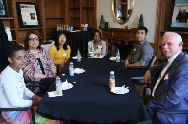 Students and supervisors from LARC, the Committee for Public Counsel Services, and the U.S. Bankruptcy Court discussed their experiences in the BBA Summer Jobs Program.