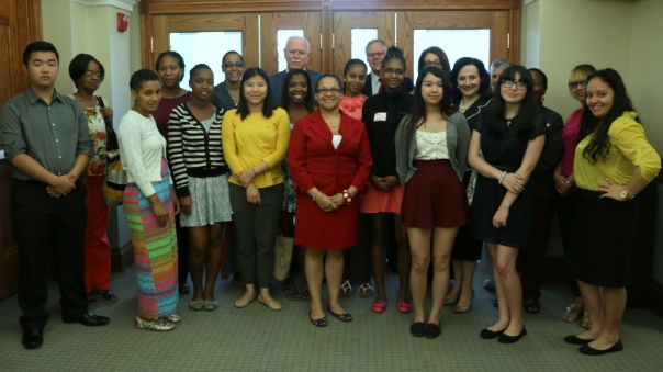 The fourteen BBF funded Summer Jobs students have spent their summers working at legal service and government agencies.