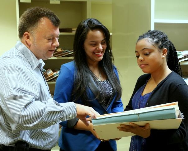 Lucidey Pimental and Myntah Morris interned at Burns & Levinson LLP through the BBA Summer Jobs Program.