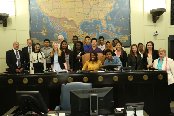 The Nelson Fellows participated in the Consequences session with Chief Judge Frank Bailey.
