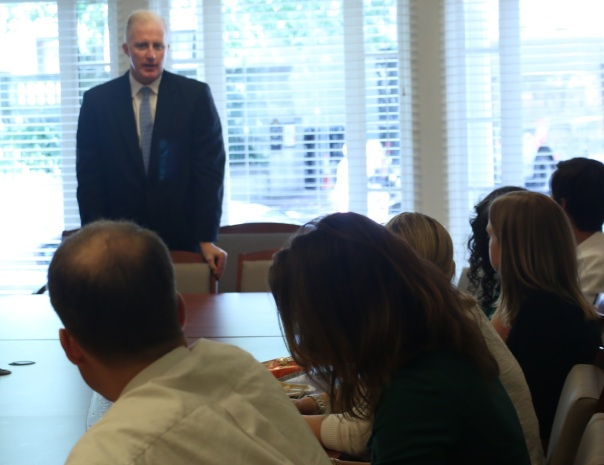Gene O'Flaherty, the Corporation Counsel for the City of Boston, spoke with PILP 11 last week about leadership.